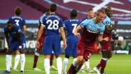 Tomas Soucek West Ham vs Chelsea Premier League 2019-20