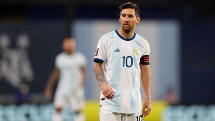 Lionel Messi Argentina vs Ecuador 081020