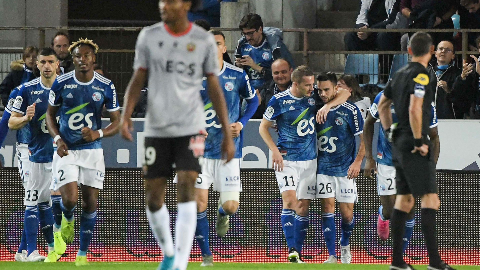 5 joueurs positifs au Covid-19 — Strasbourg