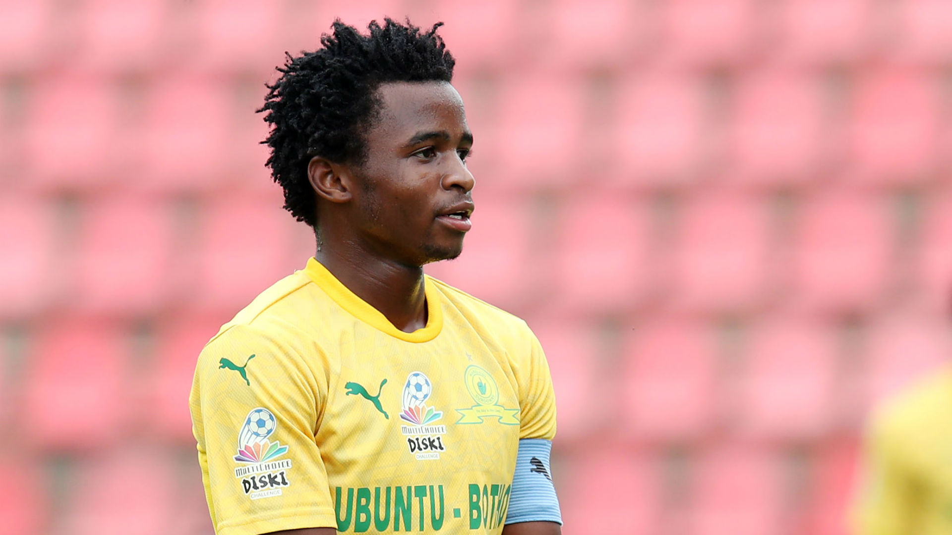 Mkhuma: Mosimane hints Mamelodi Sundowns could loan out midfielder