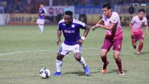 Ganiyu Oseni vs Thiago Moura Ha Noi FC vs Sai Gon FC Round 13 V.League 2019