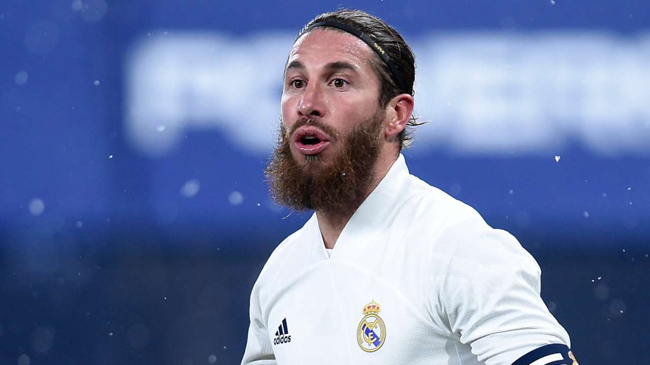 Sergio Ramos Real Madrid 2020-21