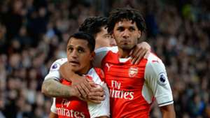 Alexis Sanchez Mohamed Elneny Arsenal