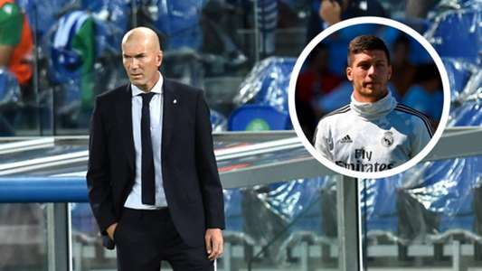 (Tin Real) HLV Zidane phủ nhận 'trù dập' Luka Jovic