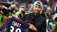 Stephen Curry PSG ASSE Ligue 1 25082017