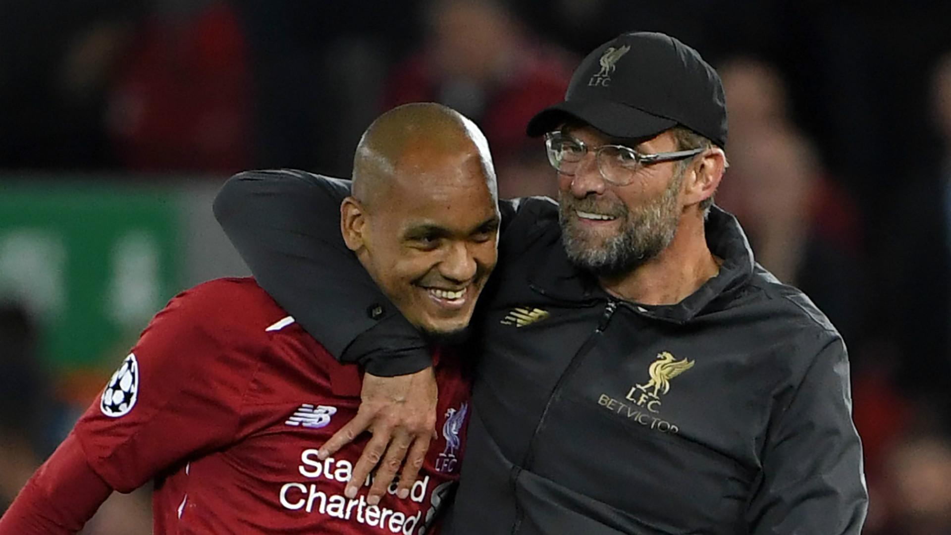 Fabinho Jurgen Klopp Liverpool 2018-19