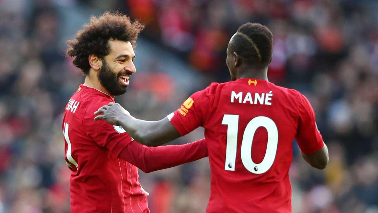 Mohamed Salah Sadio Mane Liverpool 2019
