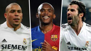 Ronaldo Samuel Eto'o Luis Figo