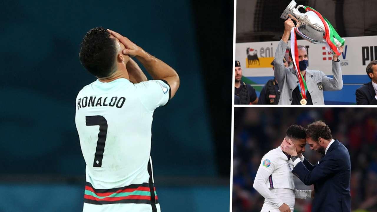 Ronaldo, England, Italy
