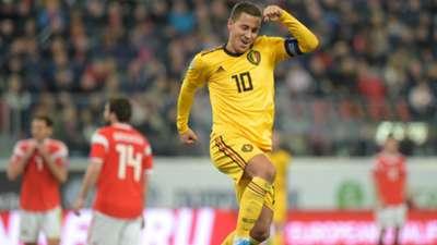 Eden Hazard Russia Belgium