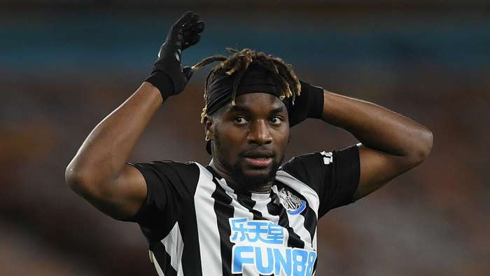 Allan Saint-Maximin Newcastle 2020-21