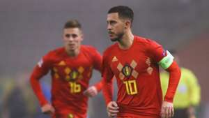 Eden Hazard Thorgan Hazard Belgium 15112019