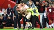 Pitch invader, Liverpool vs Norwich