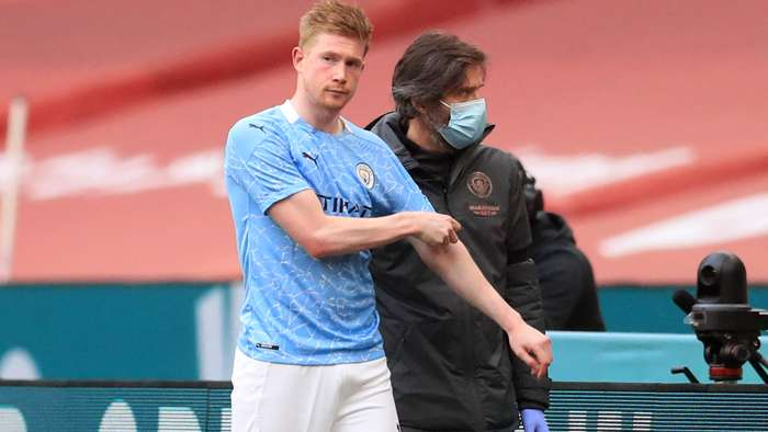 Kevin De Bruyne Manchester City 2020-21
