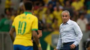 Neymar Tite Brasil Qatar Catar 06 06 2019