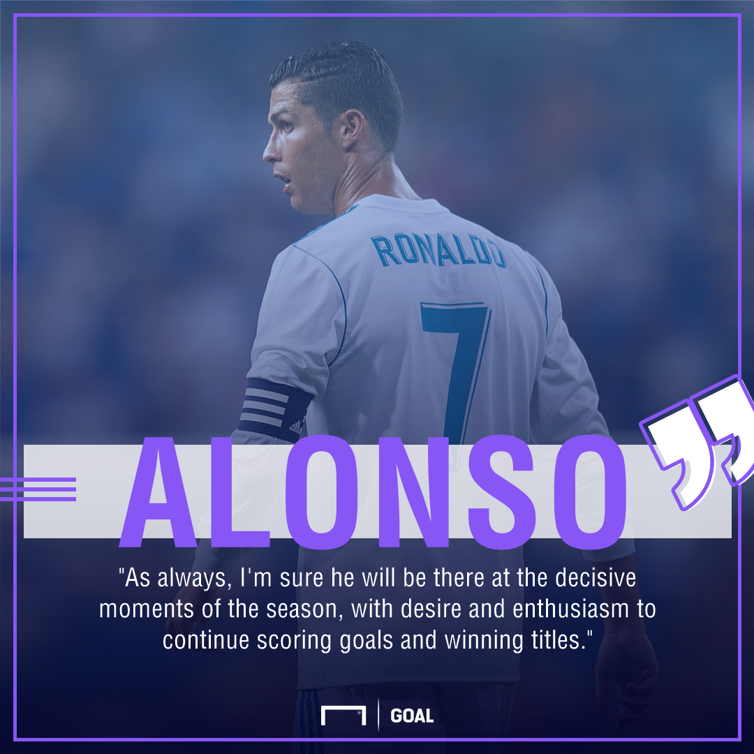 Xabi Alonso Cristiano Ronaldo Real Madrid decisive