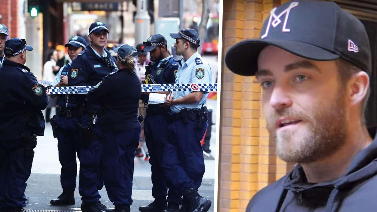 Sydney police/Paul O'Shaughnessy