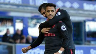 Alexis Sanchez Arsenal Everton