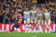Messi freekick