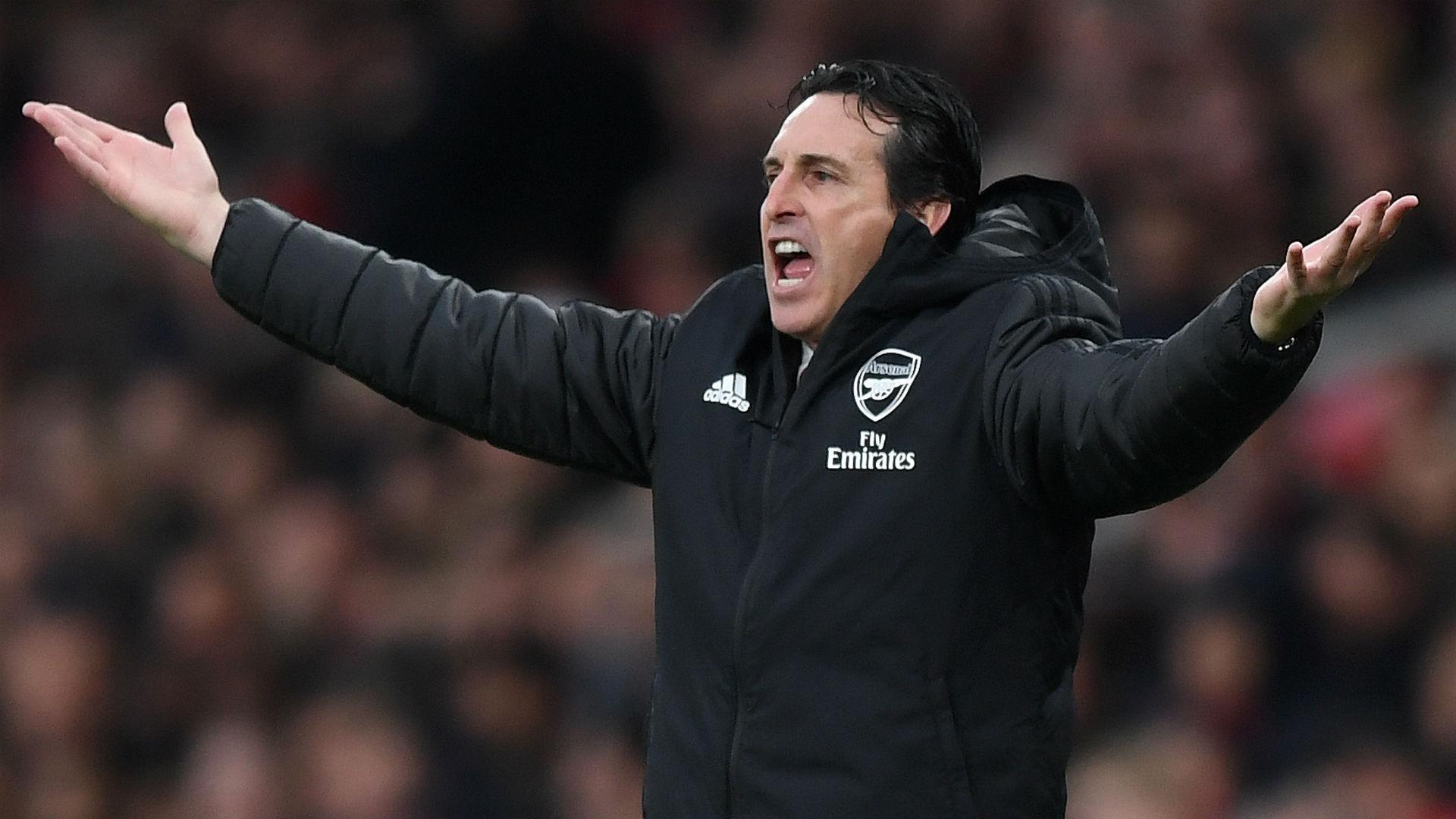 Unai Emery Arsenal Southampton 2019-20