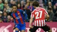 Neymar Yeray Barcelona Athletic Bilbao La Liga