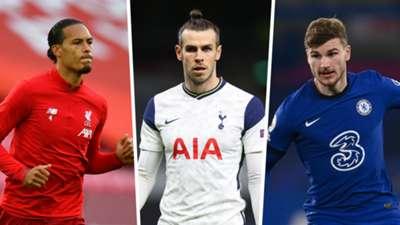 Virgil Van DIjk Gareth Bale Timo Werner