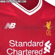 Liverpool new kit 17/18