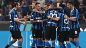 inter lazio 2019 goal celebration