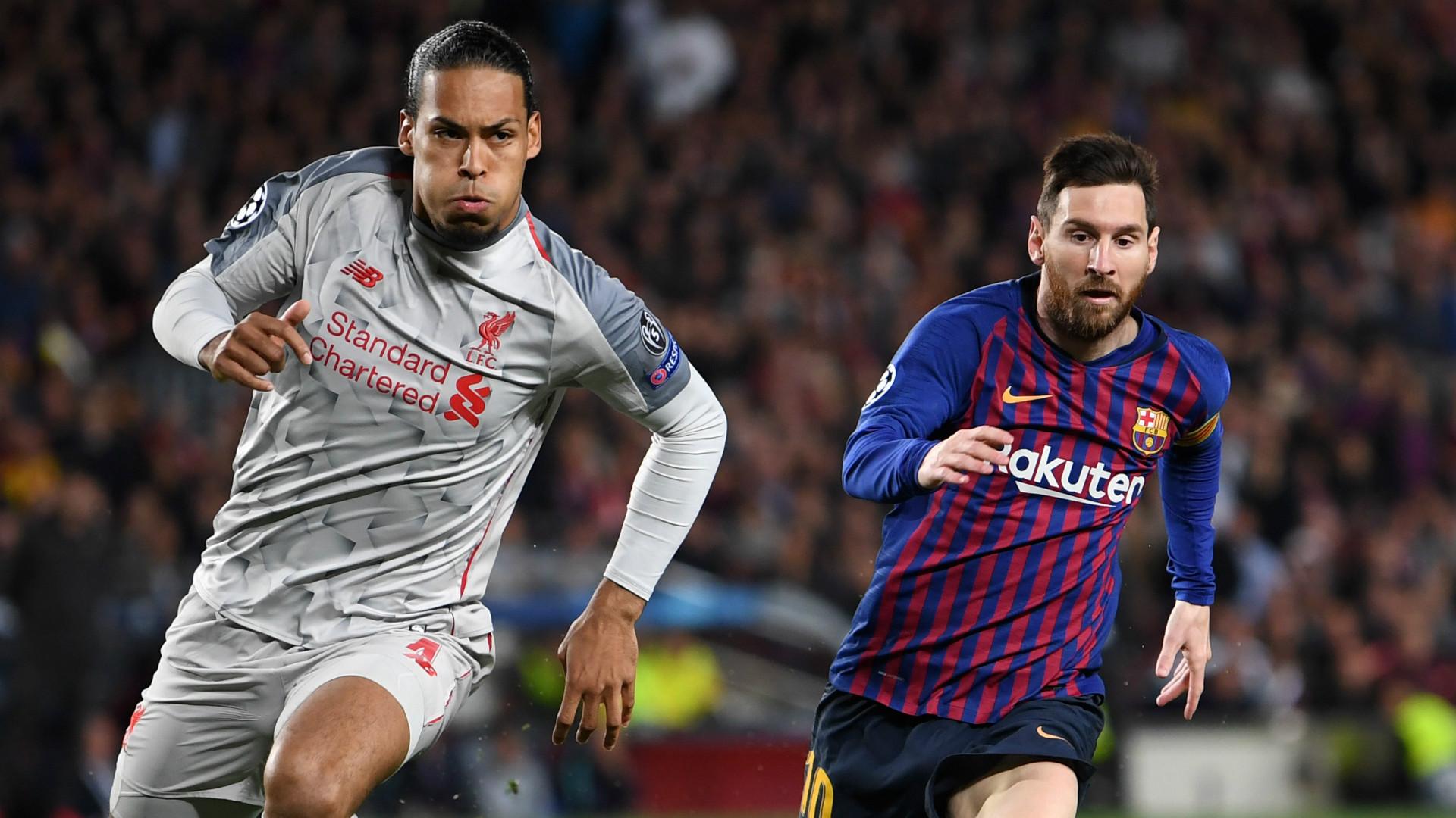Messi Lauds Van Dijk As The Ultimate Defender Ahead Of Ballon D Or Battle Goal Com