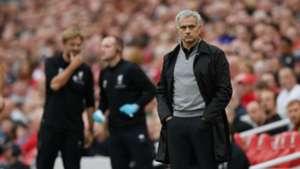 Jose Mourinho Jurgen Klopp Liverpool Manchester United 141017