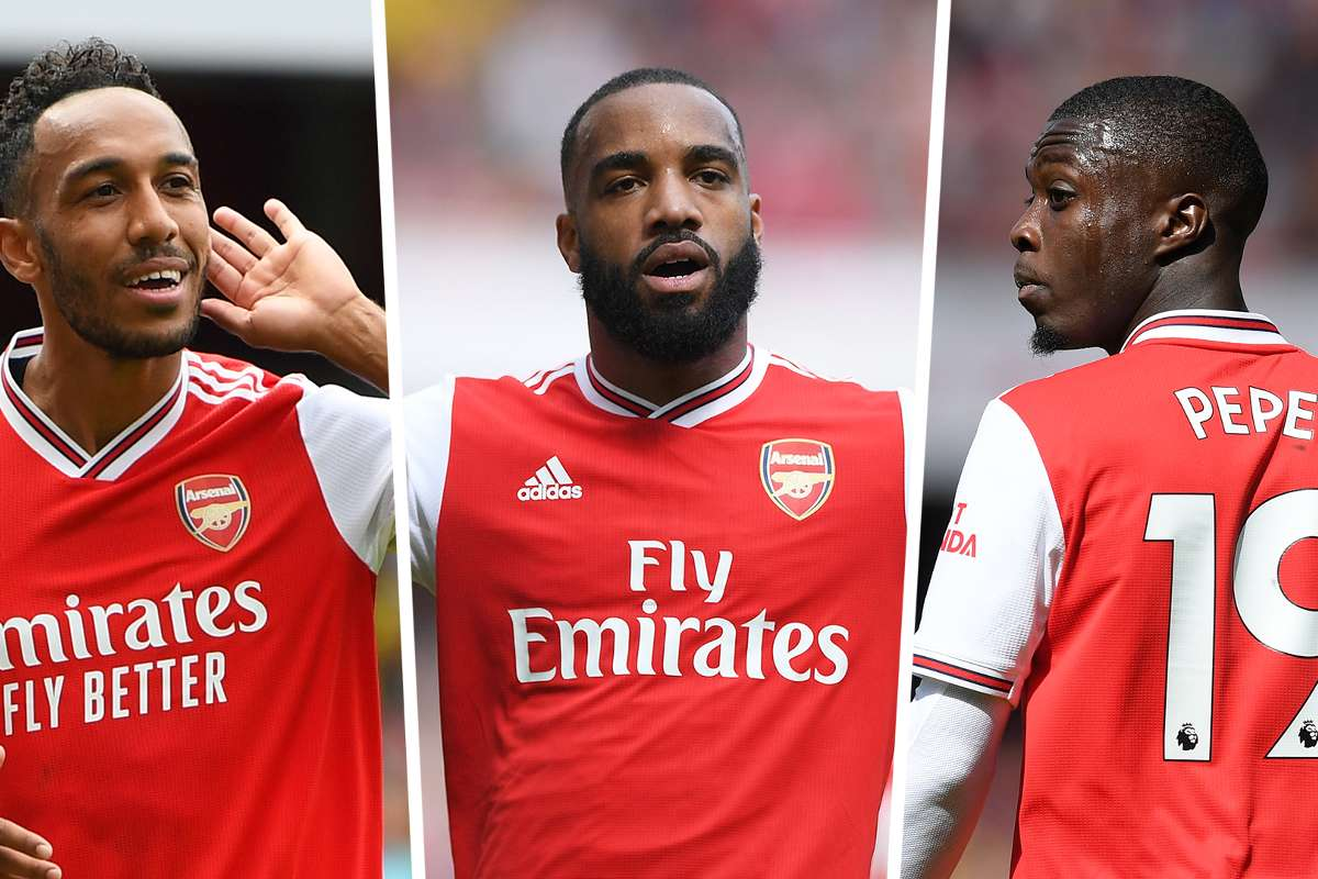 Arsenal news: All out attack! Aubameyang, Lacazette and Pepe can pile pain  on Spurs | Goal.com