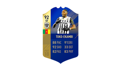 FIFA 18 Ligue 1 Team of the Season Toko Ekambi