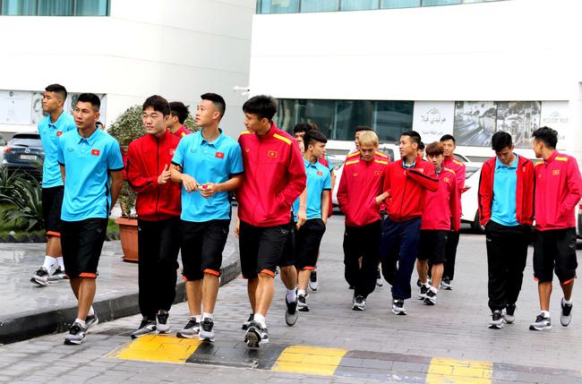 Vietnam training Asian Cup 2019