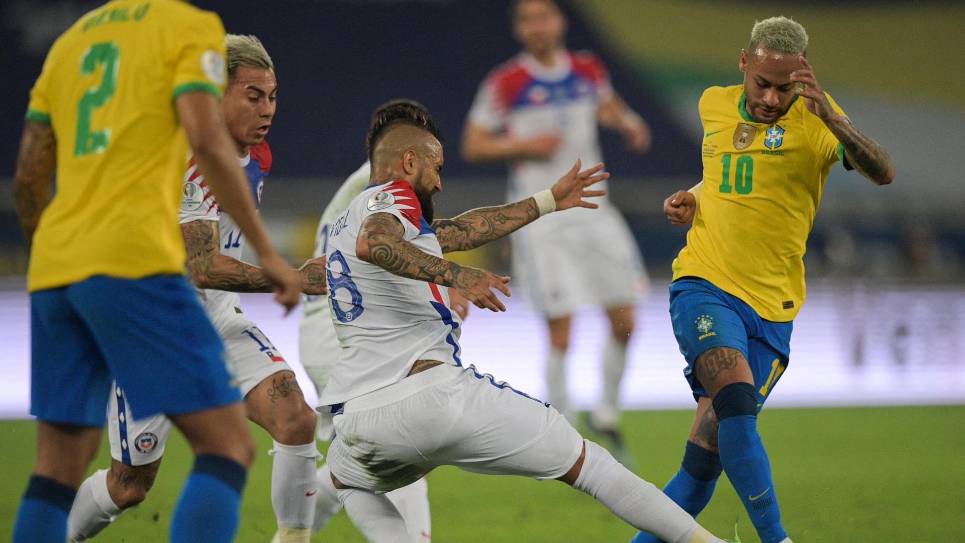 Formación de Chile vs. Brasil por las Eliminatorias: convocados, once y  suplentes | Goal.com