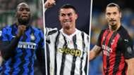Lukaku Ronaldo Ibrahimovic mix