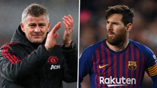 Solskjaer Messi