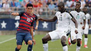 Joe Corona Isaac Sackey USA Ghana