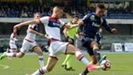 Jonathan De Guzman Aleandro Ros Chievo Crotone Serie A 2017/04/02
