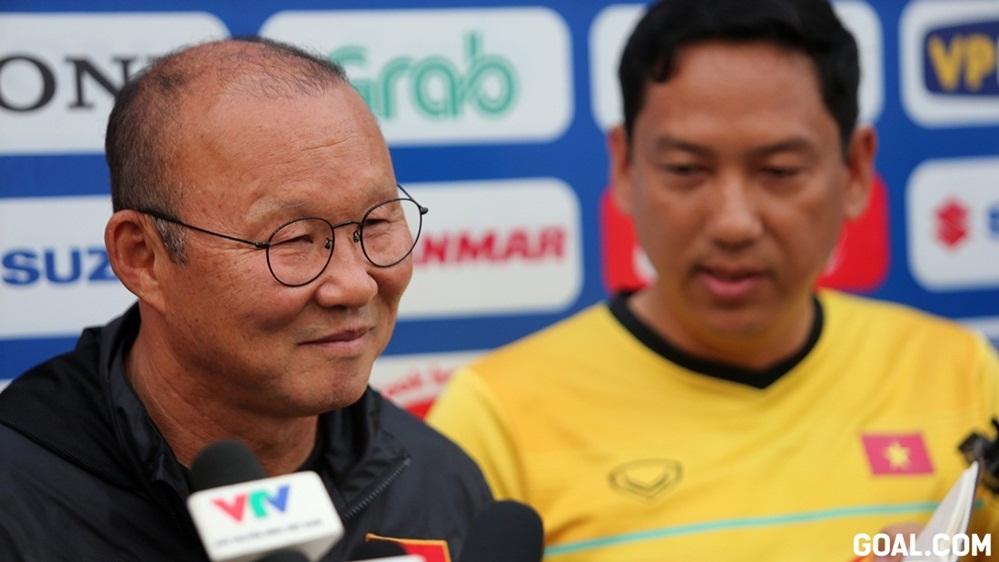 Tuyển Việt Nam tập luyện chuẩn bị AFF Cup 2018