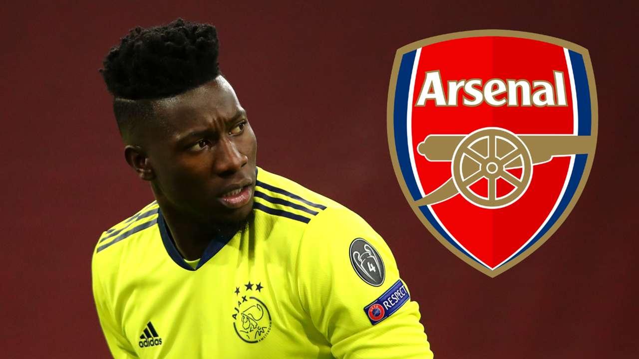 Andre Onana Ajax 2020-21 Arsenal