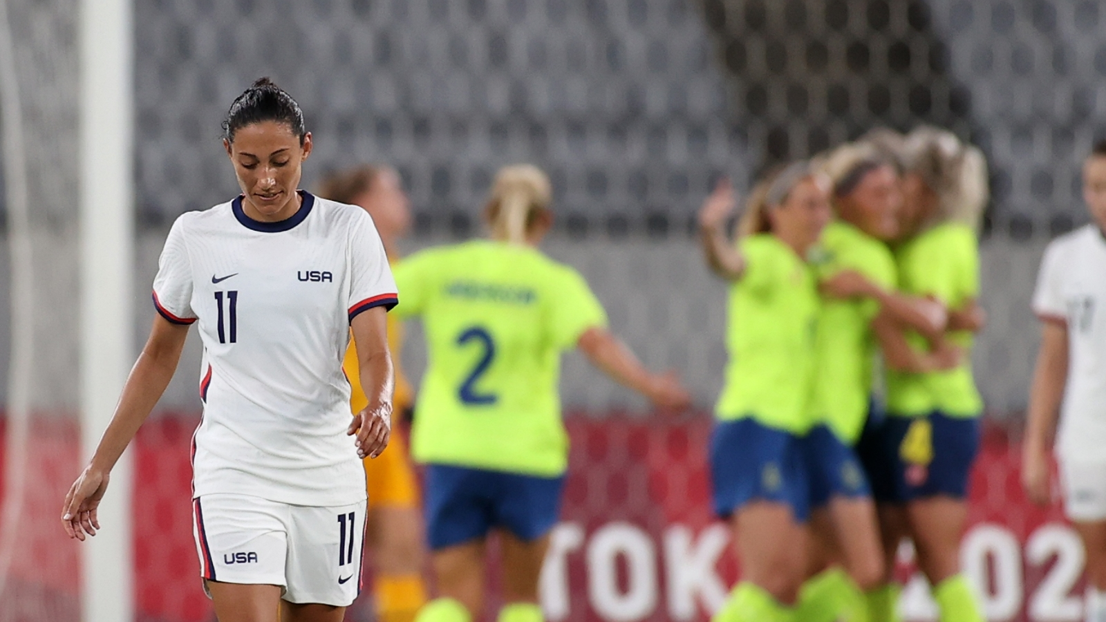 USWNT's 44-game unbeaten streak snapped in shocking Olympics 2020 opening defeat to Sweden