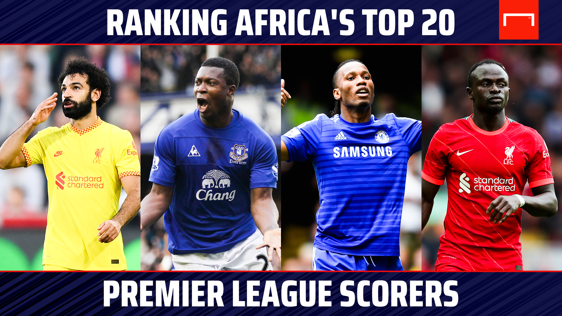 Ranking Africa's top 20 Premier League scorers