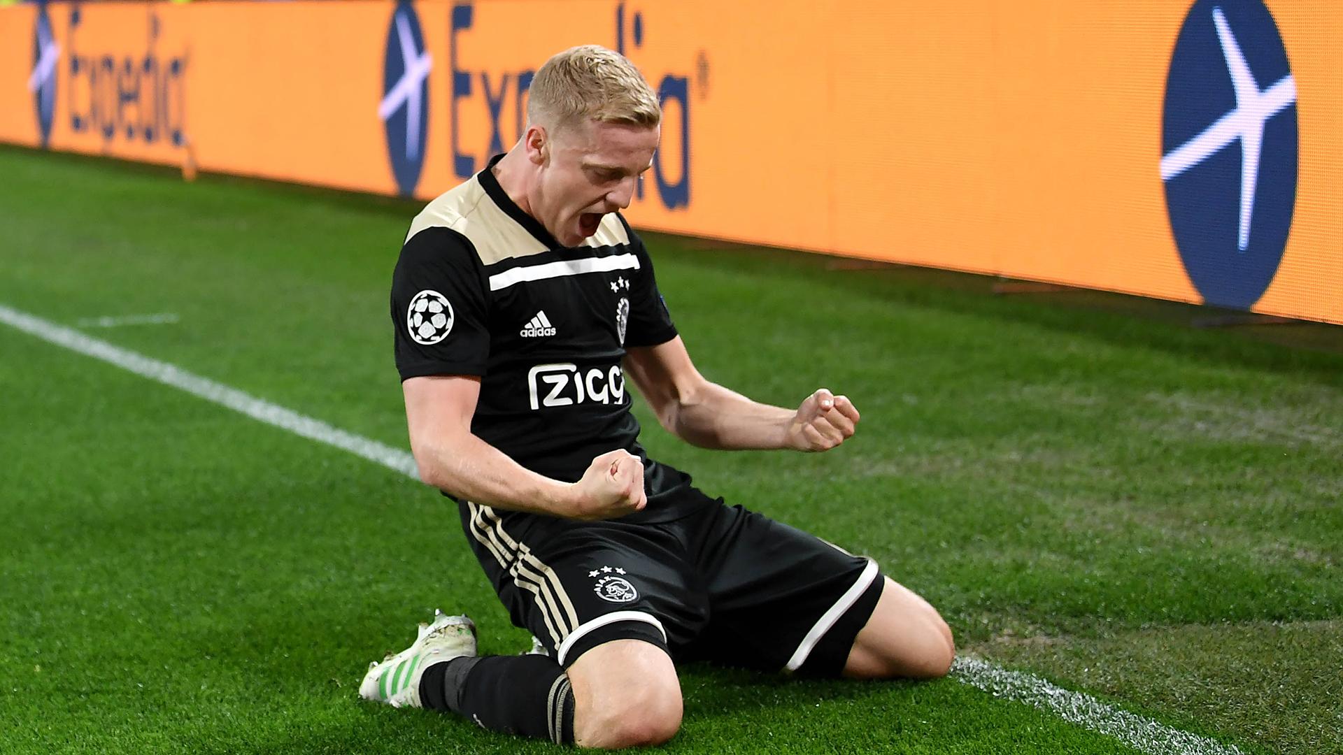 Donny van de Beek Ajax Juventus