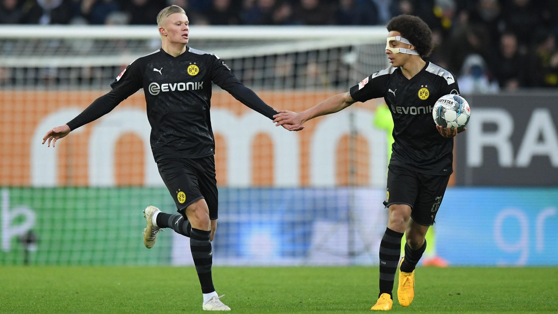 Haaland y un debut espectacular: Hattrick y victoria del Dortmund