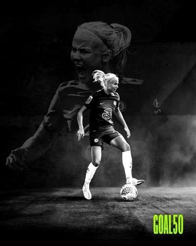 Pernille Harder Goal 50