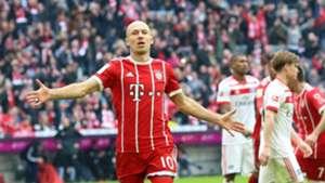 *GER ONLY* Arjen Robben FC Bayern HSV 10032018
