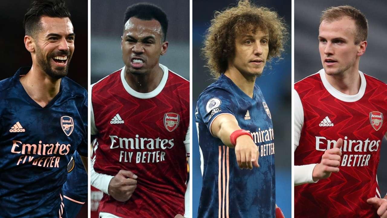 Gabriel Mari Luiz Holding Arsenal centre-backs GFX