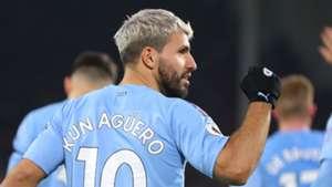 Sergio Aguero, Sheffield Utd vs Man City