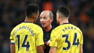 Pierre Emerick-Aubameyang Granit Xhaka Arsenal 2019-20
