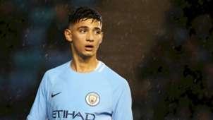 Manchester City's Nabil Touaizi